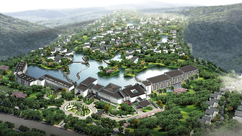 Yellow Mountain Hotel Amp Villa Works Kks Group