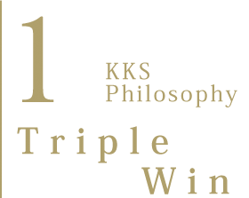 1. KKS Philosophy Triple Win